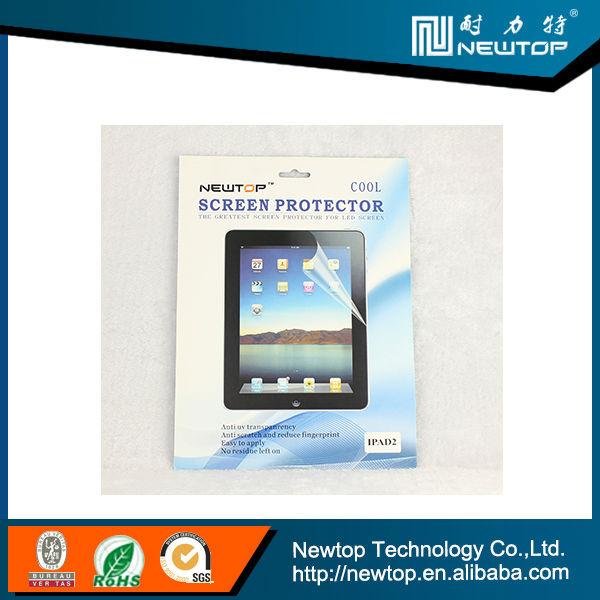 Perfect fit IPAD 2 mirror screen protector good quality screen cover (manufacturer supply)