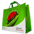 Promotional custom picture offset printing non woven shopping reusable bag