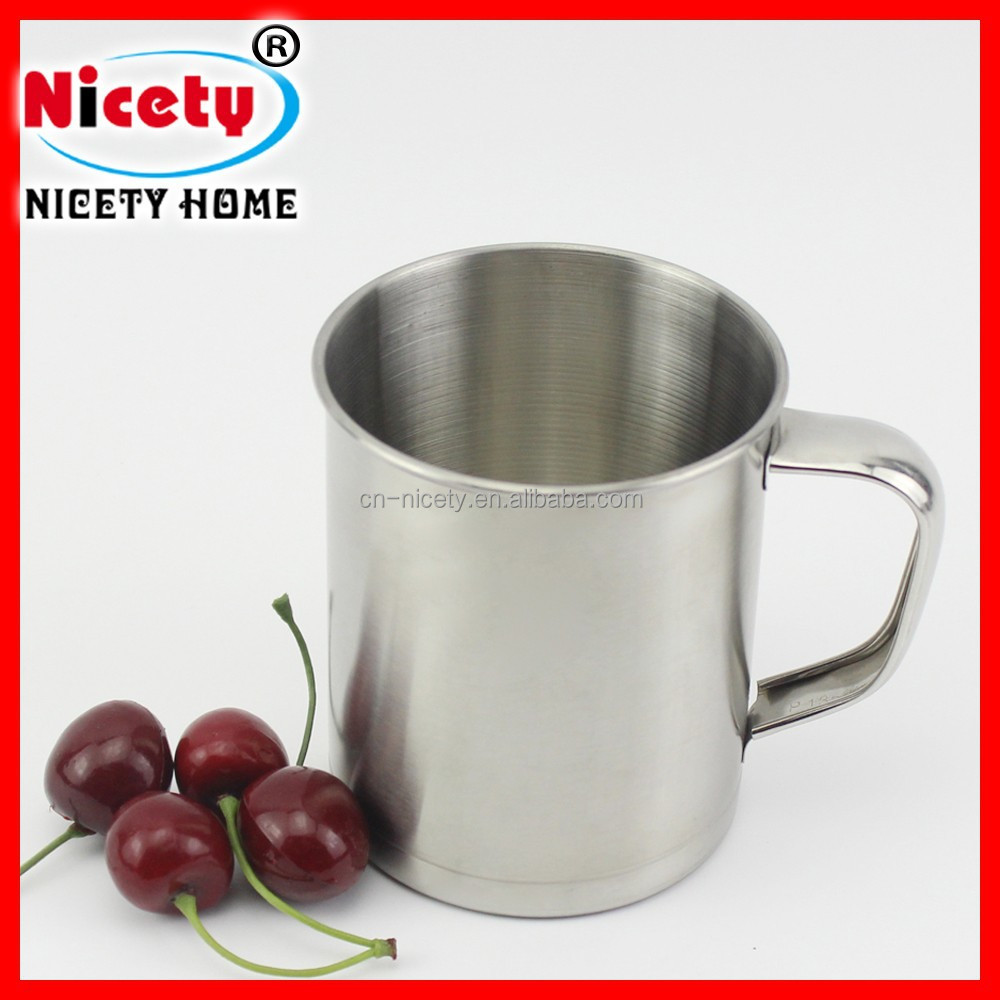 Promotional indian Stainless Steel cup/mug for camping