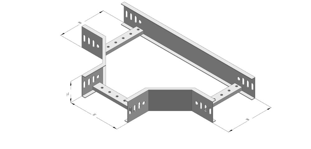 CE Certificated Aluminum Cable Tray / Cable Ladder Tray