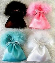satin wedding favor/jewelry/gift bags/pouches