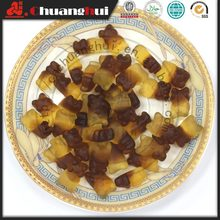 High Quality Loose Packing Cola Bear Shape Rubber / Gummy Candy