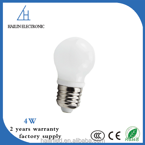 AC 220V/240V competitive price 4w led bulb e27 bulb light led