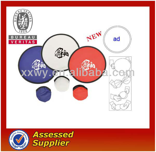 promotion collapsible frisbee/flying disc