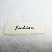 clothes label printing custom logo brand woven label