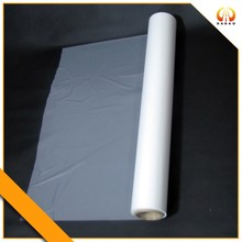 Label printing film with PET matte finish