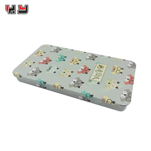 fashion tin box/ rectangular tin containers/ slide metal tins