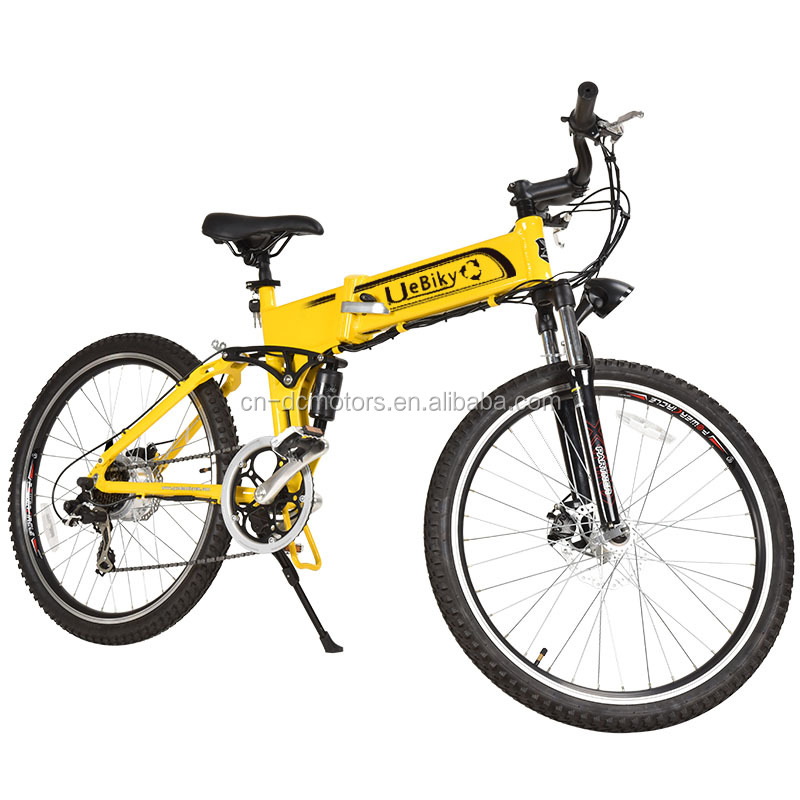 26'' Electric Mountain Bike With Derailleur / LED Display 36V250W Electric Terrain Bicycle