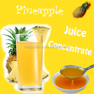 Yummy Pineapple Juice Concentrate for Bubble Drink, Fruit Juice for Ice Dessert, Taiwan Milk Tea Wholesaler