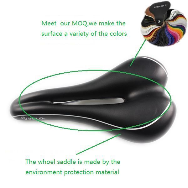 High Performance Bicycle Saddle VL-1475A Gel PU Comfortable MTB Bike Gel Seat Saddle