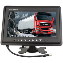 12v DC 9 inch hd tft lcd widescreen color monitor