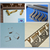 Customized micro small sheet metal stamping parts,small metal punching parts applies to electrical industrial