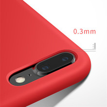 Original Soft Cover Silicon For iPhone 8 Case