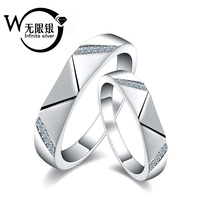 New Collection 925 Silver open couple Ring jewelry Y10049 free size