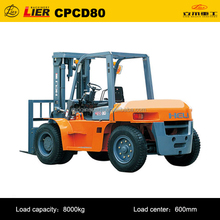 manufacture of High quality 8T HELI CPCD80 clamp forklift truck