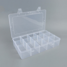 New product easy carry big 15 grid jewelery storage box