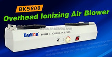 2 Fans ionizer overhead ESD eliminate ionizing air fan