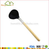 Low price of kitchen stainless steel soup ladle for wholesales