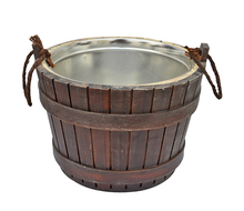 Made in China high quality handmade antique wooden ice cooler barrel