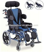 health & medical Aluminum cerebral palsy wheel chair