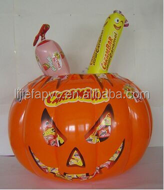 Inflatable pumpkin for easter day