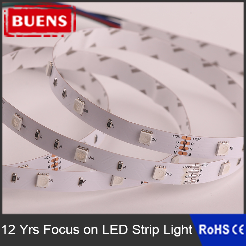 Cheap 2700k 5050 smd led strip light 30LED per meter