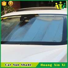 aluminum foil PE,PE Material and Front Windshield Shades Type automatic car front windshield sun shade