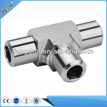 Sound Quality!! Pipe fitting, 3-way tee threaded pipe fitting