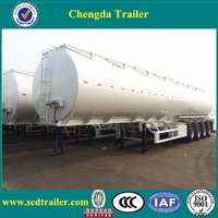 Petrol or diesel oil tanker trailea and fuel tank transportation semi trailer
