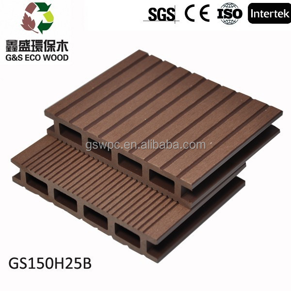 Good quality wpc decking wood plastic composite deck wpc for Plastic composite decking