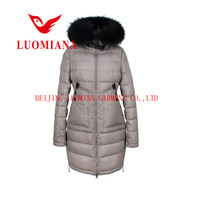 fur hood wholesale leather down clothing export garments China