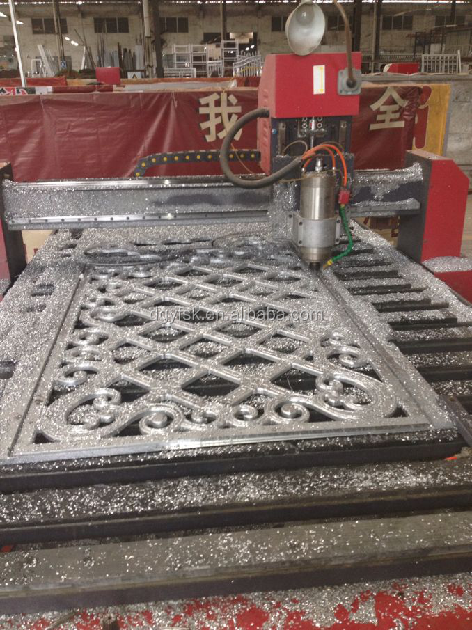 China manufactured aluminum profile cnc router machine