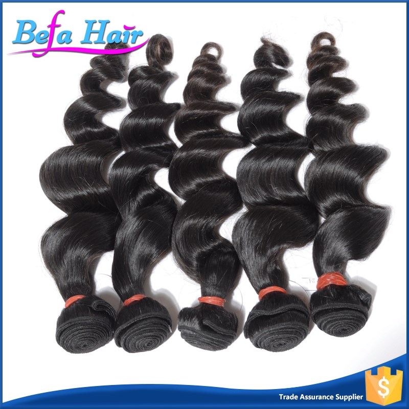 Befa Hair unprocessed wholesale virgin real mink brazilian hair 7a