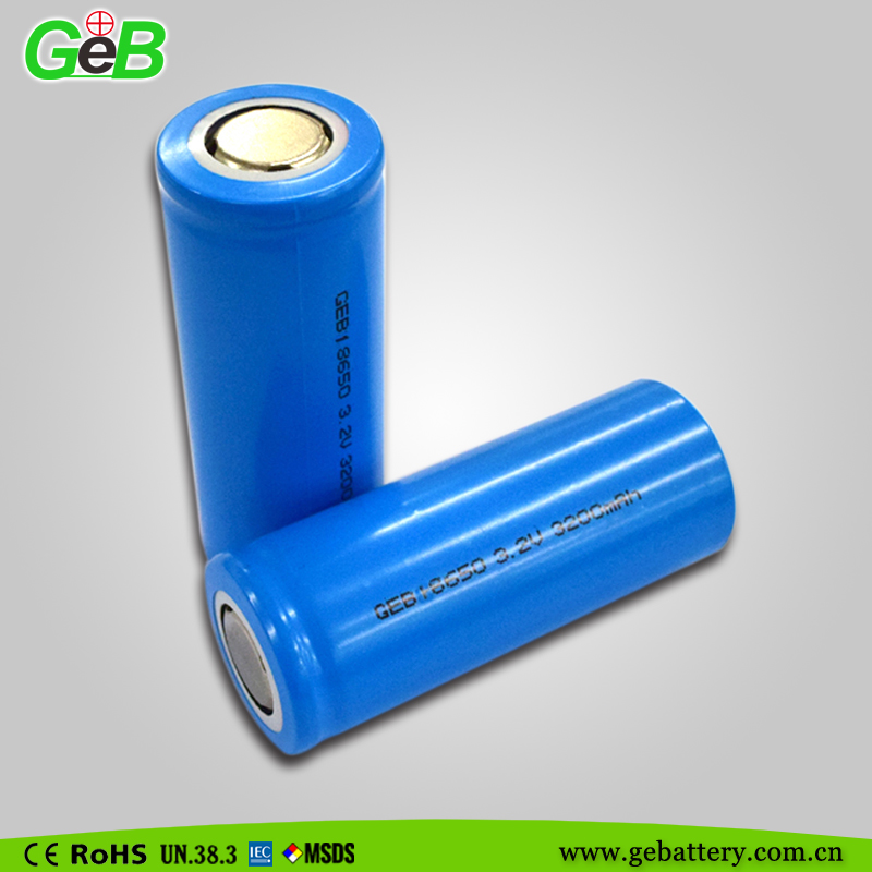 Rechargeable lithium polymer 18650-32A 3.7V 3200mAh Li-ion battery cell