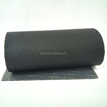 Black color PVC synthetic leather for furniture/chair/sofa