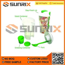 Salad Shaker With Fork