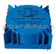 Toroidal Coil Structure PCB mount power transformer