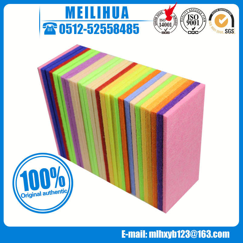 HOT sale ! polyester acoustic panel sound reflective materials thermal insulation board