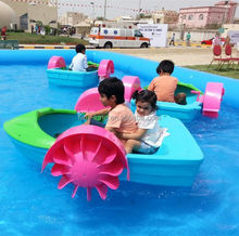 BIG SALE! High quality water swan pedal boat kids hand paddle boat manufacture factory in china