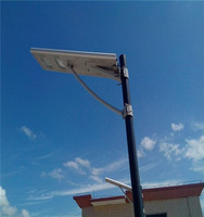 3 years warranty factory direct good quality 12w all in one integrated solar street light