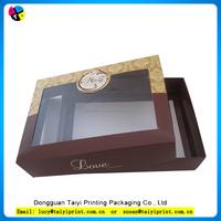 2016 wholesale PVC window cake slice boxes packaging