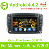 car radio for mercedes w203 car radio 1998-2004 with auto dvd video media player accessories