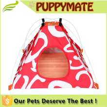Pet products durable oxford fabric foldable waterproof dog bed tent/pet play tent/cat house
