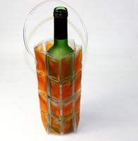 portable wine cooler wine coole/ bag for keeping the ice wine/1 bottle wine bag