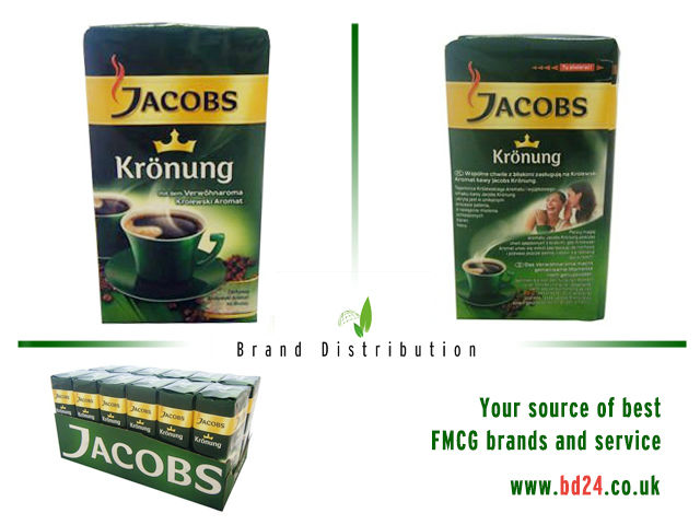 Jacobs Kronung Ground coffee 250g
