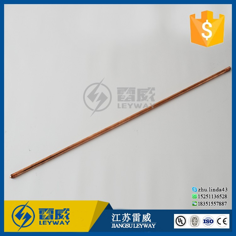 Copper Coated Earth Stick Lightning Protection System