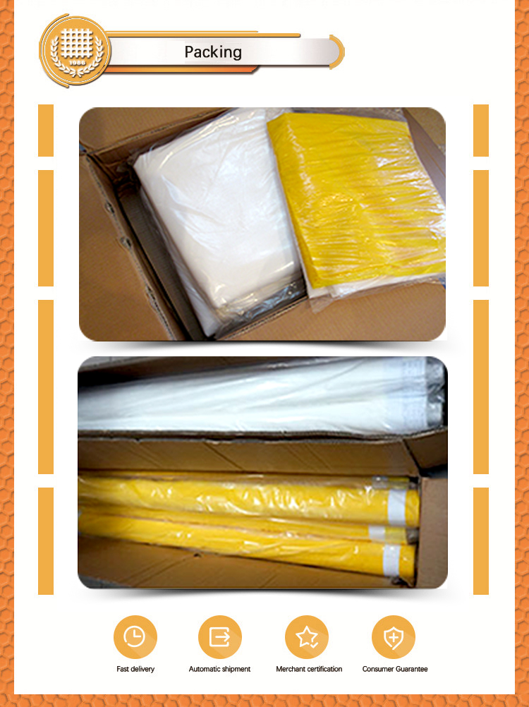 Silk Screen Printing Mesh Polyester Silk Fabric