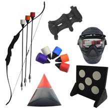 Wholesale archery set takedown recurve bow and foam tip arrow for outdoor and indoor