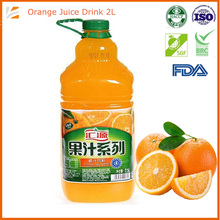 2500ml Orange Fruit Juice With Vitamin C Without Pulp