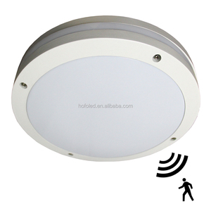 86lm/w IP65 IK10 Round Motion Sensor Surface Mounted LED ceiling light